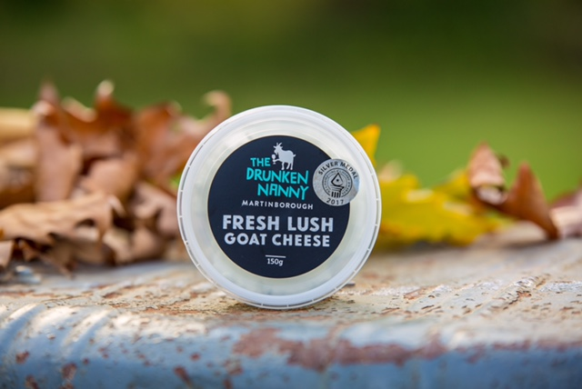 So how versatile is The Drunken Nanny Fresh Lush Goat Cheese?